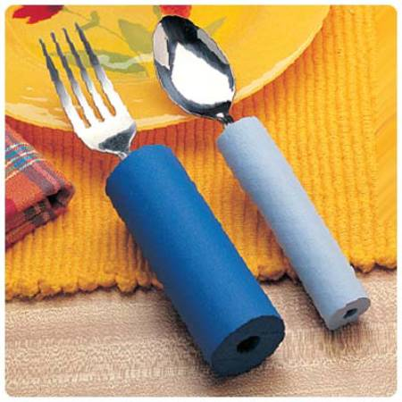 Patterson Medical Handle Padding Foam, Tubular, Light Blue, Accessory for  Use with Utensil Handles, Each - Model 6247