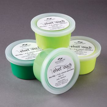 Patterson Medical Velvet Touch Putty - Medium Soft, 2 oz. - Leaf Green - Model 566125