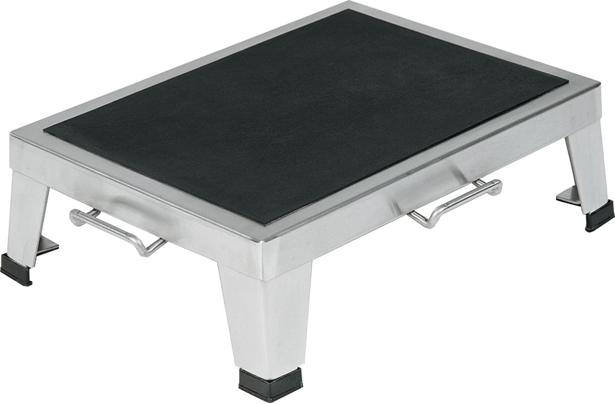 Pedigo Products Chrome Or Stainless Steel Foot Stool W