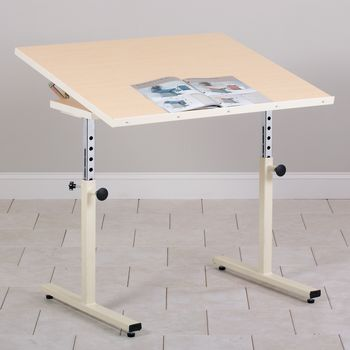 Personal Work Table w/ Tilt Top - Item #81511856