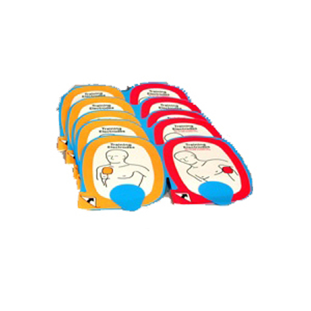 Physio-Control Inc Infant Child AED Training Electrode Set - Model 11250-000042, Pkg of 5