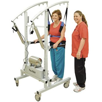 Pneu-Walker Mobility Trainer, Analog Controls - Includes three vests. Indicate sizes when ordering.