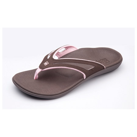 Spenco® 39-426 KHOLO Slide Sandals Womens Chocolate//Mineral Green New in Bag