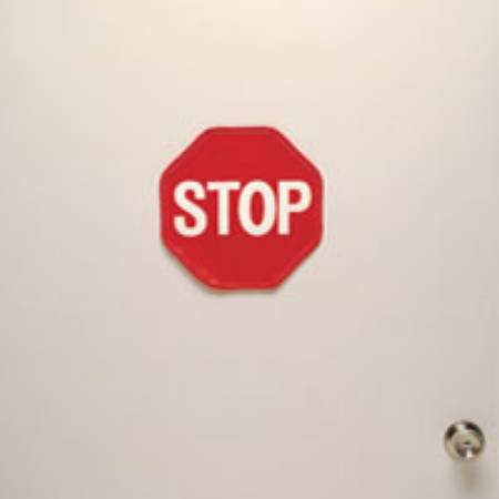 Posey Stop Sign Only F/Dr Grd, Each - Model 8209