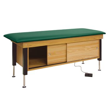 Power Hi-Lo Cabinet Treatment Table - Green - Item #969228GR