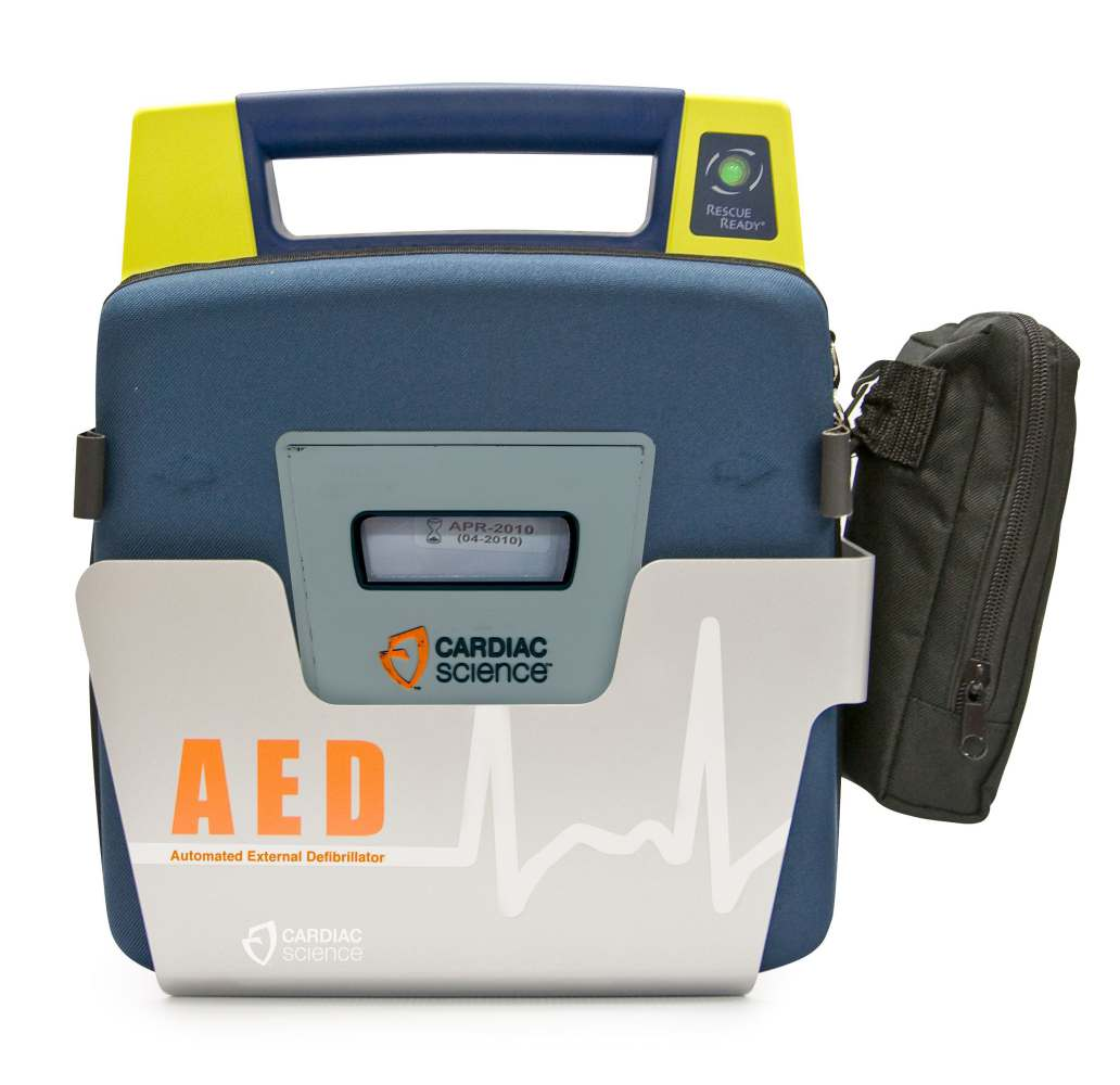 Powerheart G3 Wall Mounted Storage - Sleeve, Aed, Cardiac Science, Each - Model 180-2022-001