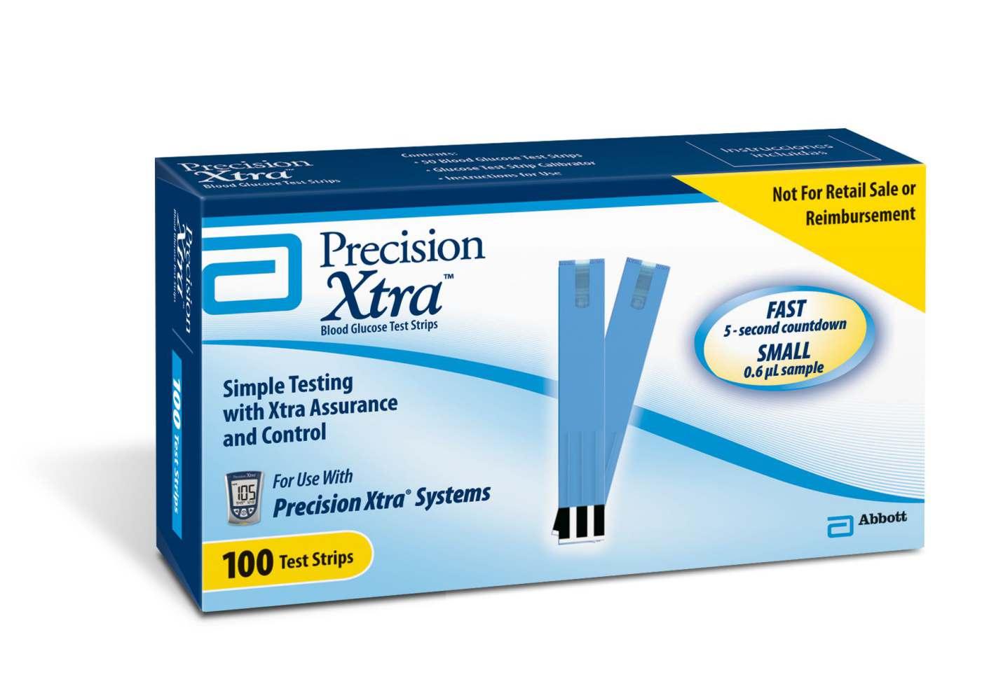 glucose test strips Precision