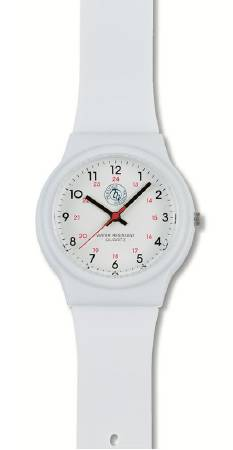 Prestige Medical Watch 24 Hours Analog, White, Each - Model 1770-WHT