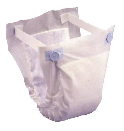 Prevail Undergarment Belted, One Size Fits Most White Moderate-Heavy, One Fits Most, Pkg of 120