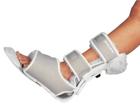 DJO PROCARE Multi-Podus Foot Brace, Medium Contact Closure, White, Each - Model 79-90550