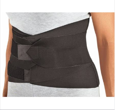 PROCARE Lumbar Sacral Support, 2X-Large Hook and Loop Closure 53 - 59 Inch Waist 9 Inch Width Unisex