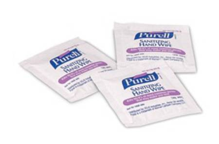 Purell Hand Sanitizer Wipe, 1000 Count Bulk Packed Shipper 62% Ethyl  Alcohol, Pkg of 1000