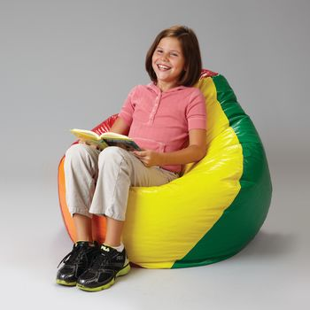 Rainbow Bean Bag Chair - Item #81594522