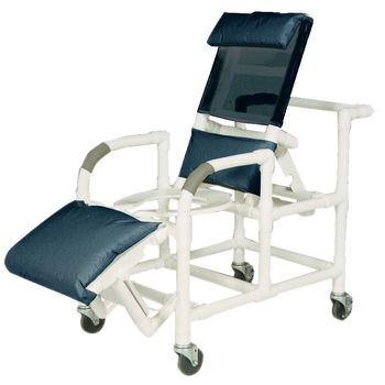 Reclining Shower/Commode Chair w/out Pail - Item #555367