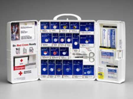 First Aid Only Inc  Workplace First Aid Cabinet - Model 1001-RC-0103, Each