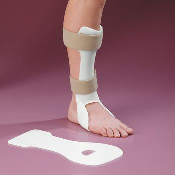 Rolyan anterior afo pre cut splint pre cut only small for Floor reaction afo