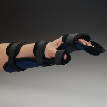Rolyan Kydex Orthosis - Kydex Functional Resting Splint, Right, Small - Model 56072606