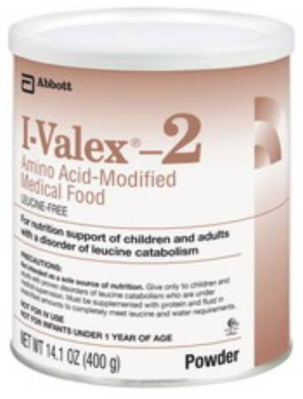 I-Valex-2 Amino Acid-Modified Medical Food, 14.1 oz./400 gm I-VALEX -2 POWDER 400 GRM, Pkg of 6 - Model 51138