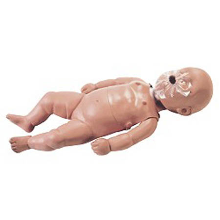 Simulaids Sani-Baby CPR Manikin - Sani-Baby 4-Pack with Carry Bag - Model 2124, Pkg of 4