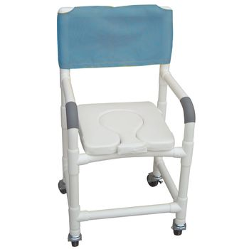 Shower Chair w/ Removable Cutout - Item #564124