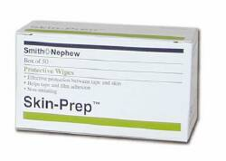 Smith & Nephew Skin-Prep Prep Wipe, Purified Water, Diglycol, Glycerin Individual Packet, Box of 50 - Model 420400
