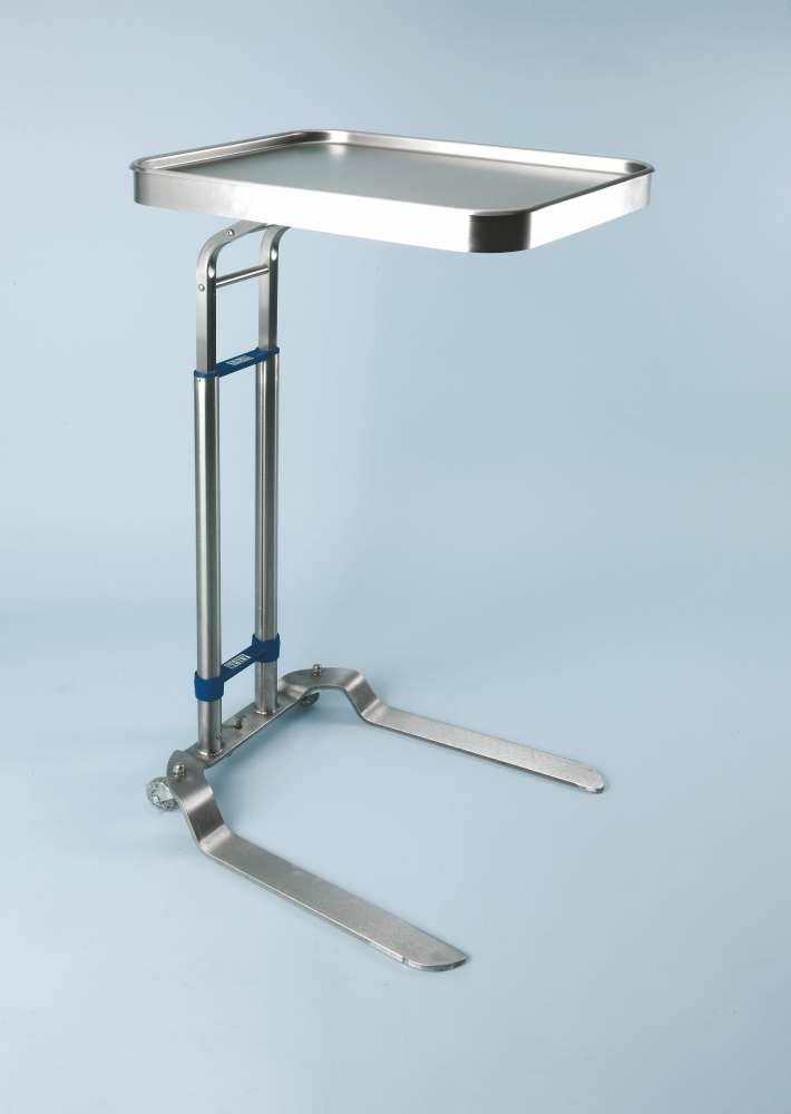 Stainless Steel Mayo Stand - Foot Operated, 13