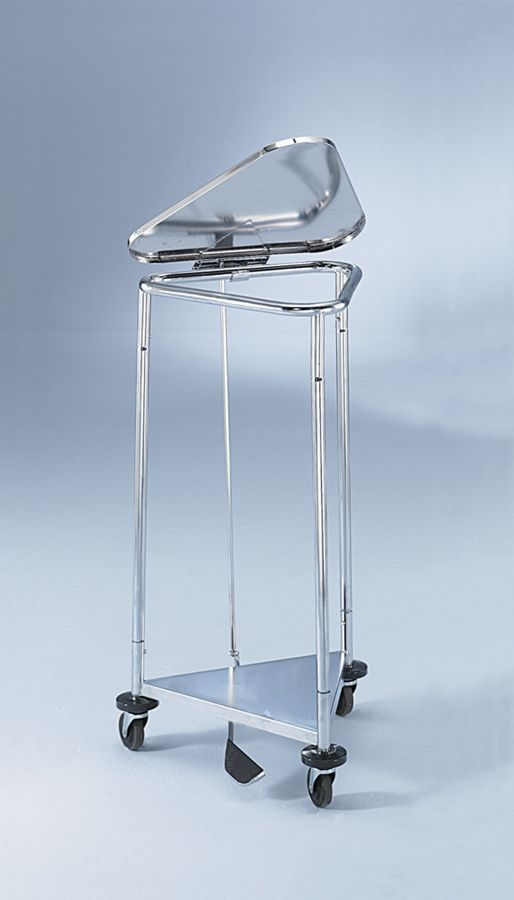 Standard or Large Stainless Steel Hamper Stand - 18
