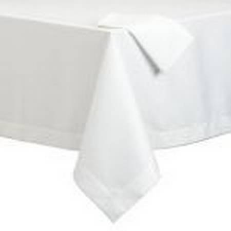 Standard textile avila tablecloth white 52 x 120 inch for Tablecloth 52 x 120