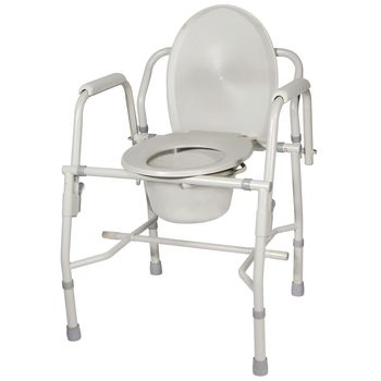 Steel Drop-Arm Commodes - Item #554890