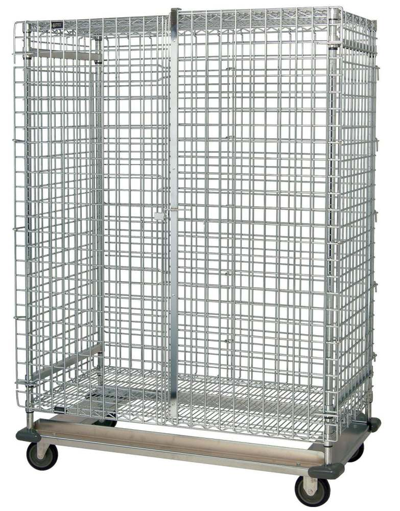Quantum Storage Systems Mobile Wire Stacking Basket Unit