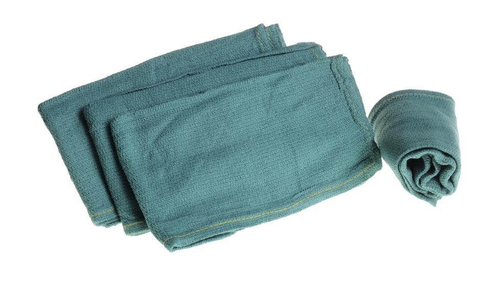 Sterile Disposable X-Ray Detectable OR Towel - Dsp, Green, Dlx, Xr, Box of 80 - Model MDT2168104XR
