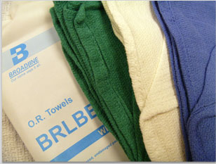 Sterile O. R. Towel - Surgical, 1 Towels/Pk, Box of 80 - Model BRLBBCT01B