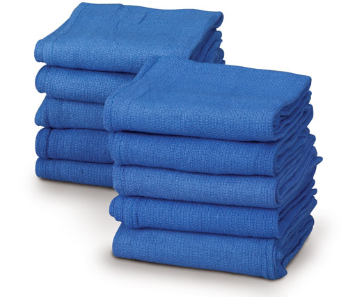 Sterile Operating Room Towel - Or Blue 2In Fenestrated, Box of 40 - Model 701-BF2