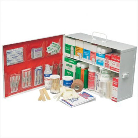 Swift First Aid Small Industrial First Aid Cabinet - 2 Shelf ...