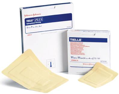 Systagenix Wound Management Tielle Adhesive Pad, Hydropolymer 4-1/4 X 4-1/4 Inch TIELLE + DRSG 4.25