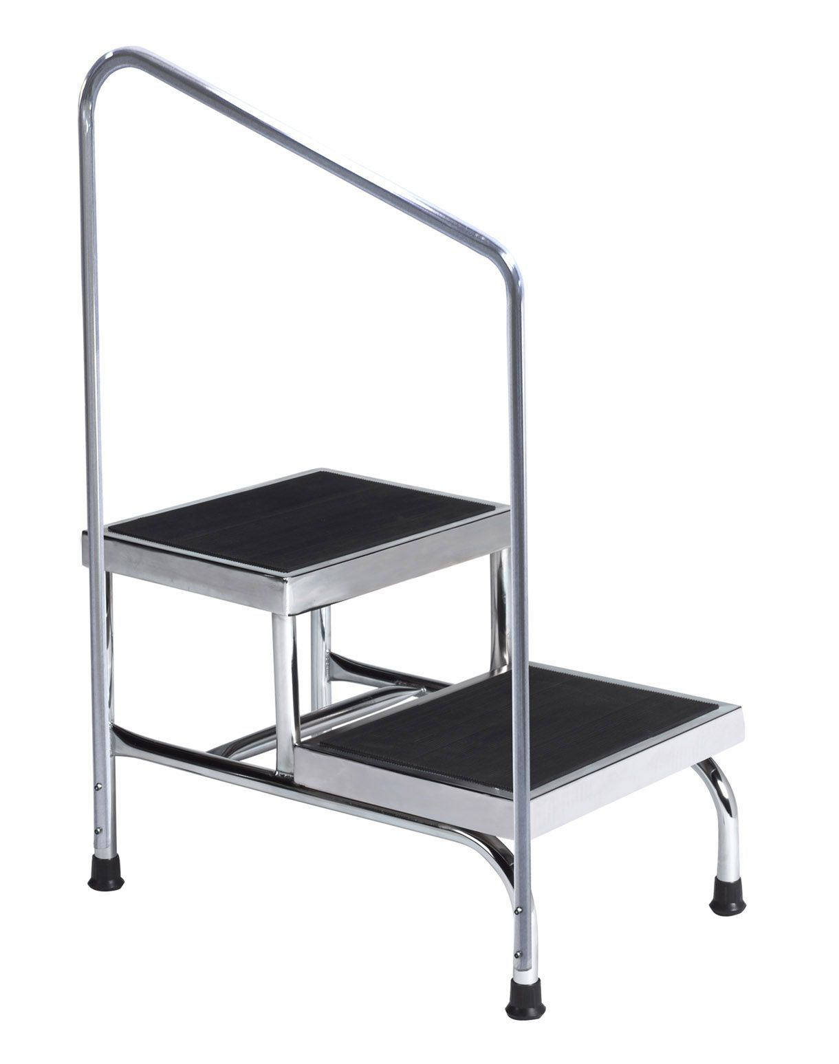 The Brewer Company Double Step Stool W Handrail 2 Step