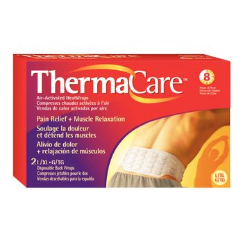 ThermaCare Air-Activated Heat Wrap - Back and Hip S/M, 2 box - Item #567630
