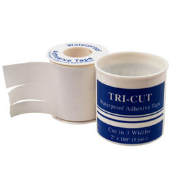 Tri-Cut Adhesive Tape - Med Ts175 4Cmx100M Was Soluble Or, Box of 25 - Model 020.040100