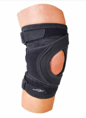 Tru-Pull Lite Knee Brace, 2X-Large Strap Closure 26-1/2 to 29-1/2 Inch Circumference Left Knee