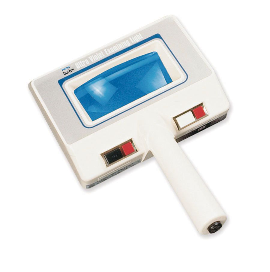 Ultraviolet Lamp - Light, Woods, Handheld, w/ Magnifier, Uvlight ...