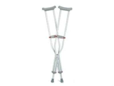 Underarm Crutch Guardian Select Red Dot Aluminum Child 200 lbs. - Model G92-214-8