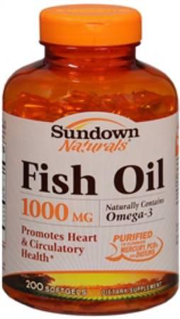 Sundown Naturals Fish Oil  Review