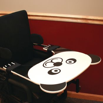 Wheelchair Kid Tray - Panda - Item #081541440