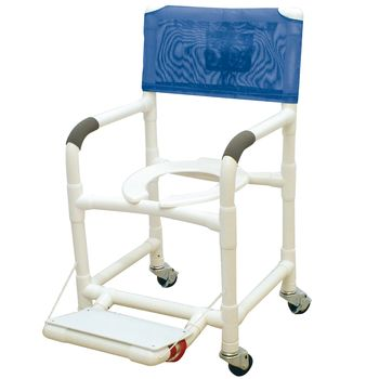 commode pan accessory for the etac mobile shower chair item 557581
