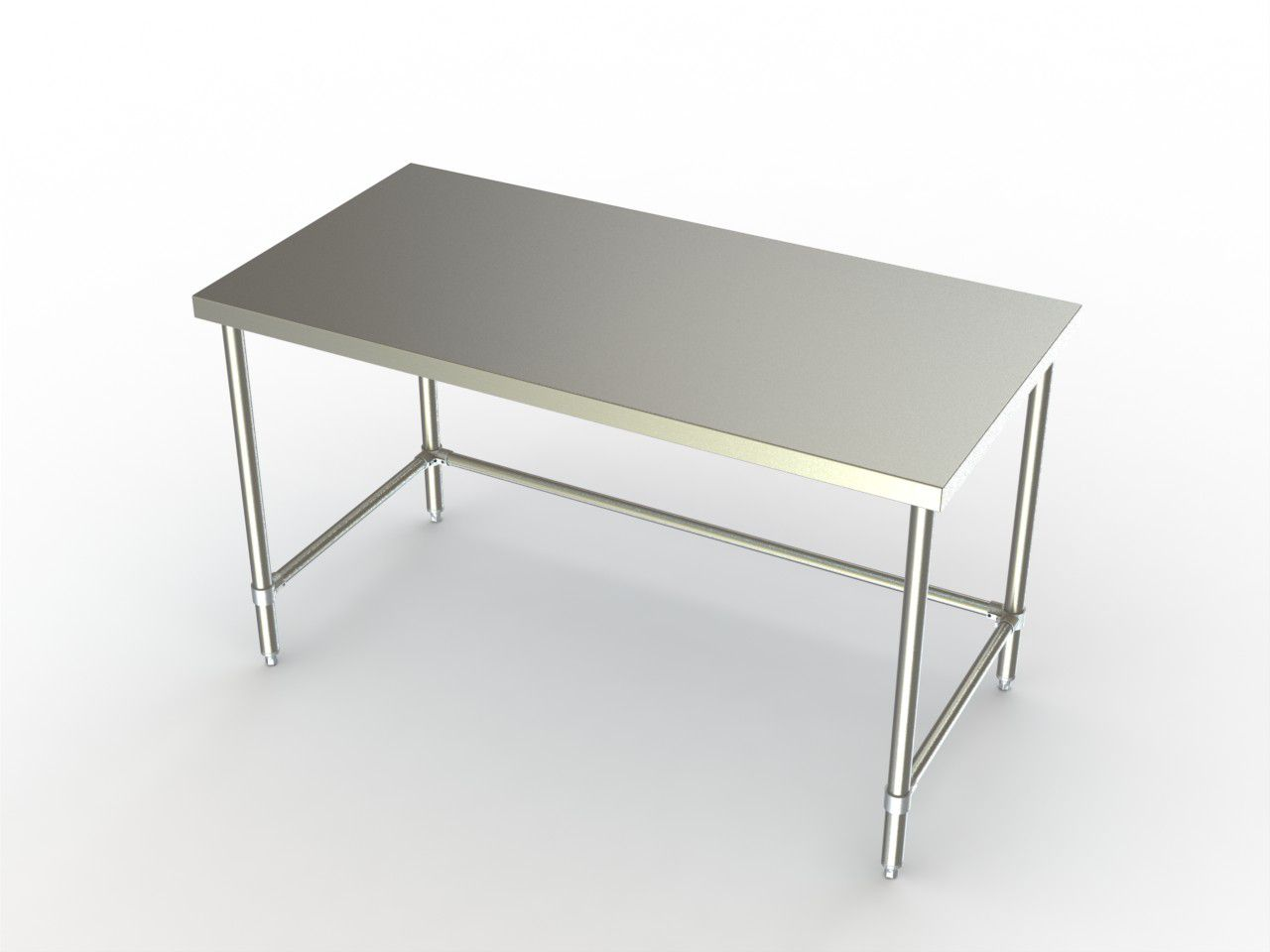 Multiple Drawer Stainless Steel Utility Tables with Guard Rail
