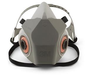 24 Of Lrg Model Half 3m Face 6000 Box Reusable 6300 - Respirator Mask