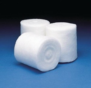 3M Synthetic Cast Padding Cast Padding Undercast, 3 Inch X 4 Yard Polyester NonSterile, White
