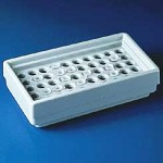 Bel-Art Microcentrifuge Tube Refrigerator Racks, SCIENCEWARE - Polystyrene, Model 189070000, Each