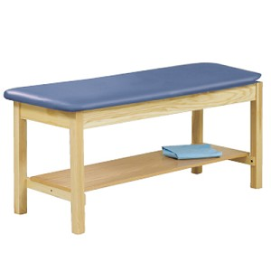 Clinton H-Brace Treatment Table without Backrest - Mulberry - Model 969181
