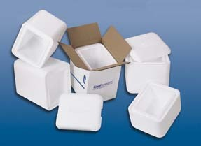 Cold Chain KoolTemp Molded Expanded Polystyrene (EPS) Containers - EPS Containers Only